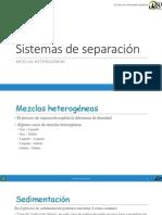 03 - Sistemas de Separación Heterogeneos