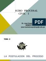 Quinta Clase Dpc 1 - La Etapa Postulatoria Del Proceso