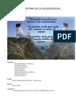 La Autoestima en La Adolescencia.proyecto