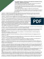 Convención Interamericana Sobre Normas Generales de Derecho Internacional Privado