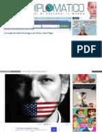 L'Assedio Di Julian Assange è Una Farsa. John Pilger