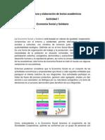 Eje 4.Actividad 1. Economia Social y Solidaria