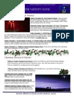 Nativity Scene December 2014