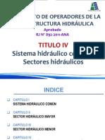 Sistema Hidraulico Comun y Sectores Hidraulicos
