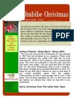 Christmas 2011 Newsletter