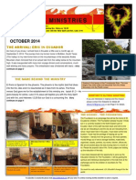 e  edwards  october 2014 newsletter el fenix ministries