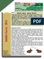 Easter 2014 Newsletter