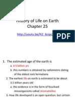 chapter 25 origin of life
