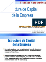 Estructura de Capital Optima