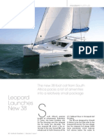 Leopard 38 Featured in Multihulls Quarterly