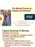 Lecture Presentation 2 Supply-Demand