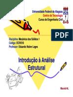 2 - Introducao a Analise Estrutural