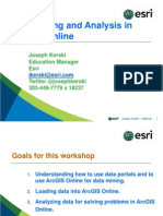 Data Discovery and Analysis in Agol