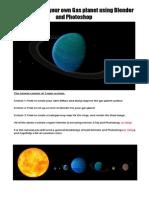 Gas Planet Tutorial