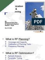 Presentation RF-Optimization-And-Planning