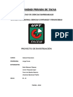 Sistema Financiero Peruano - Trabajo Grupal