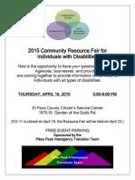 PPITT 2015 Resource Fair