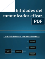 Las habilidades del comunicador eficaz (virtual).ppt