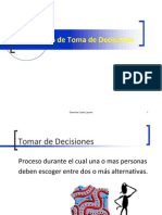 Proceso Toma de Decisiones