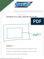 Centrar una tabla dentro de un DIV.pdf
