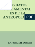 Los Datos Fundamentales de La a - Ratzinger, Joseph