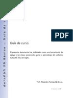 AutoCAD 2D Básico - Guía de Curso
