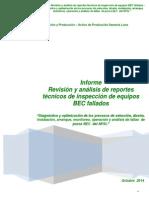 BEC - Informe No. 3 Reg. Oper. y Fallas