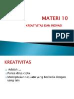 MATERI Kewirausahaan -10 - Oke! Siap!