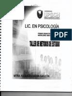 Antologia de Metodos de Estudio