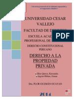 Derecho a La Propiedad Privada Imprimir
