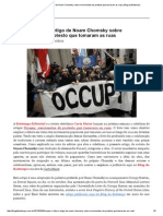 Ocupar o Futuro_ Artigo de Noam Chomsky Sobre Movimentos de Protesto Que Tomaram as Ruas _ Blog Da Boitempo