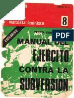 Manual Del Ejercito Contra Subversión