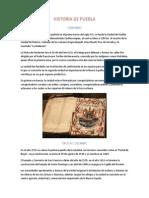 Historia de Puebla