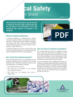 Chemical Safety Information Sheet
