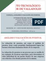 Analisis y Valuacion de Puestos