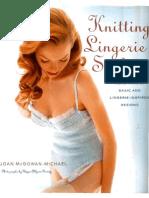 Knitting Lingerie Style - More Than 30 Basic and Lingerie - Inspired Designs (tejido crochet