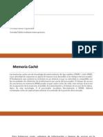 Memorias cache y modulos de entrada y salida