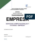 2011 Ejemplo plan de negocio serv computacionales +++