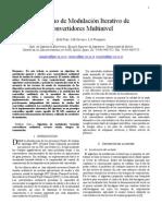 Algoritmo de Convertidores Multinivel