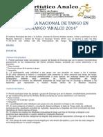 II Muestra Nacional de Tango en Durango