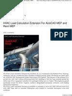 HVAC Load Calculation Extension For AutoCAD MEP and Revit MEP.pdf