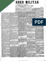 El Correo Militar. 8-10-1883