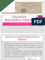 Cognitive Behavioral Therapy Priscila Ingles