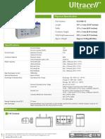 Bateria UCG100-12