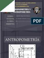 Ergonometría y Antropometría