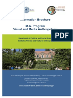 Brochure MAVisual and Media Anthropology 2014 Neu