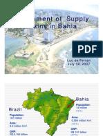 Development of Supply Chains in Bahia