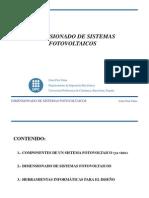 Dimensionado Sistema Fotovoltaico 4826