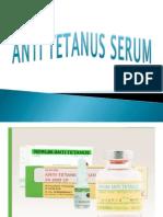 Anti Tetanus Serum