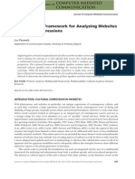 A Multimodal Framework for Analyzing Websites as Cultural Expressions